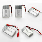 Universal 3.7V 20C LiPo Battery 240mAh - 1000mAh w/ PCB for RC Air Heli Quad