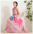 Women Vintage Boho Floral Print Sleeveless Party Cocktail Evening Maxi Dress