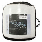 Catherine Lansfield Home Luxury Egyptian Cotton Hollowfibre Bedding Duvet Quilt