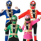 Super Mega Force + Mask Kids Fancy Dress Power Rangers Girls Boys Childs Costume