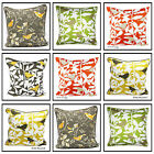 "Printed 100% Cotton Decorative Birds Cushion Covers Pillow Case Size 20""x 20"""