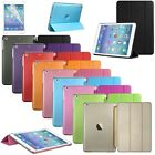 Smart Cover 9 Colors PU Leather Case For Apple iPad Mini/iPad Air Ultra Slim