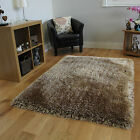 Ultra Thick Warm Super Soft Cream Shaggy Rug Luxury 7cm Deep Polyester Shag Mats