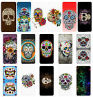 Sugar Skull Flip Case Cover for Samsung S3 S4 S5 S6 - 12