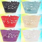 12Pcs Cake Wraps Cases Cookie Cupcake Wrappers Wedding Birthday Party Decoration