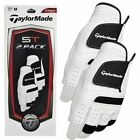 **PACK OF 2** TaylorMade 2015 Premium ST Synthetic Leather Mens Golf Gloves