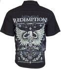 DESIGNER Mens BUTTON DOWN Shirt REDEMPTION Express Roar S-XXL $48 a