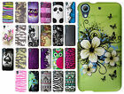 For HTC Desire 626 Rubberized HARD Protector Case Snap Phone Cover +Screen Guard