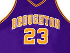 PETE MARAVICH BROUGHTON HIGH JERSEY PURPLE   NEW     ANY SIZE XS - 5XL