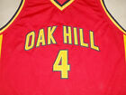 RAJON RONDO OAK HILL HIGH SCHOOL JERSEY RED NEW-  ANY SIZE XS - 5XL