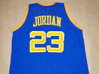 MICHAEL JORDAN LANEY HIGH SCHOOL JERSEY BUCS BLUE NEW ANY SIZE XS - 5XL