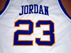 MICHAEL JORDAN LANEY HIGH SCHOOL JERSEY White NEW -   ANY SIZE S - 5XL