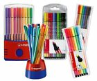 Stabilo Pen 68 Firbe Felt Tip Colouring 1.0mm Pens - All Sizes
