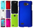 For LG Lancet Rubberized HARD Protector Case Snap On Phone Cover +Screen Guard