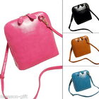 Vintage Small Shell Bucket Bag Women Messenger Crossbody Handbag Shoulder Purse