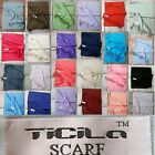 WoW OFFER Scarf Drape Neckerchief Pashmina Men Women 200x74 Cuddly Soft