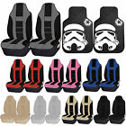 Star Wars Stormtrooper Black Rubber Front Floor Mats Seat Covers Universal Set $64.95 USD on eBay
