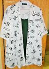 PS Classic 100% Polyster Ladies Blouse w Shell sz 28 White Black