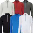Callaway 2015 Opti-Series 1/4 Zip Waffle Fleece Mens Sweater Golf Pullover