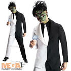 Two Face Mens Fancy Dress Batman Comic Villain Adults Costume Halloween Outfit