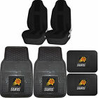 NBA Phoenix Suns Rubber Front Rear Floor Mat Seat Cover Universal Set on eBay