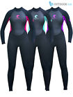 Odyssey Core 3/2mm Ladies Womens Full Wetsuit Surf Swim Kayak Long Wet Suit 6-20