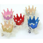 Magnificent    Lace Crown Hairpin Hair Dress Kid Hair Clip for Girls C1