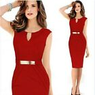 Sleeveless Sexy Bodycon Bandage Women Cocktail Formal Party Office Dress P56 New