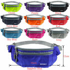Waterproof Running Belt Bum Waist Pouch Fanny Pack Camping Hiking Sport Zip Bag