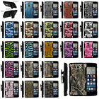 Armor Rugged Stand Holster Clip Case for LG G Stylo | Camo Skin Hunters Autumn