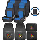 Synthetic Leather Seat Covers Set NHL Ottawa Senators Rubber Floor Mat Universal $109.95 USD on eBay