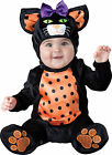 Infant Baby Mini Meow Kitty Cat Animal Costume Halloween