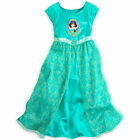 Disney Store Aladdin Princess Jasmine Short Sleeve Nightgown Pajama Girl 5/6