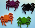 HALLOWEEN SPIDER NOVELTY DECORATIVE PUSH PIN/THUMB TACK/4 COLORS