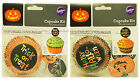 *WILTON 48pc Cups & Picks CUPCAKE KIT Great For Parties HALLOWEEN *YOU CHOOSE*
