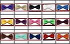 Внешний вид - Solid Color Toddler Bow Ties for Boys Girls Kid Child School Picture Wedding