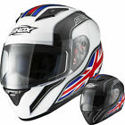 Shox Axxis Identity ACU Gold Motorcycle Full Face Bike Crash Helmet GhostBikes