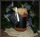 NELLIE'S AUTUMN SCENTS ...GRUBBY CHALKBOARD SOY CANDLE...16 OZ