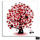 Heart Tree   Love BOX FRAMED CANVAS ART Picture HDR 280gsm