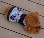 Cute Princess Bow Dog Pet Puppy Dress Skirt Layered Clothes Apparel Costume Cat