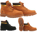 KIDS BOYS GIRLS CATERPILLAR COLORADO PLUS LACE LEATHER ANKLE BOOTS SHOES SIZE