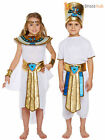 Girls Boys Egyptian King Queen Book Week Historic Fancy Dress Costume School