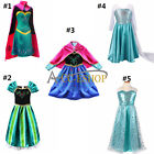 Flower Girl Kid Xmas Queen Princess Cosplay Costume Party Fancy Ball Gown Dress
