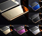 COLOR MIRROR EFFECT FRONT BACK TEMPER GLASS SCREEN PROTECTOR FOR APPLE IPHONE 6