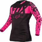 NEW 2016 FOX RACING 180 WOMENS MX DIRT BIKE OFFROAD JERSEY BLACK/ PINK ALL SIZES