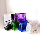 Chic Transparent Handbag Bag Clear Jelly Purse Women Clutch PVC Tote Fashion New