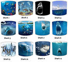 Lampshades Ideal To Match Great White Shark Cushions & White Shark Wall Decals