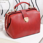 Womens Leather Tote Handbag Crossbody Shoulder Messenger Satchel Doctor Purse