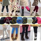 Fashion Girls Trouser Casual Slim Skinny Toddler Kid Legging Pants Xmas Gift 2-7