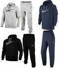 Nike New men's Swoosh track suit 679387 Black, Navy and  Grey New